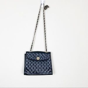 Jennifer Moore Quilted Chain Strap Mini Crossbody
